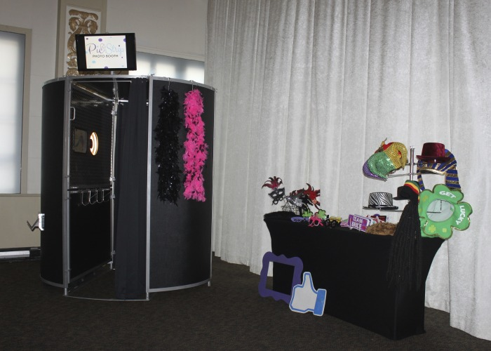 Photo booth at The Cadre