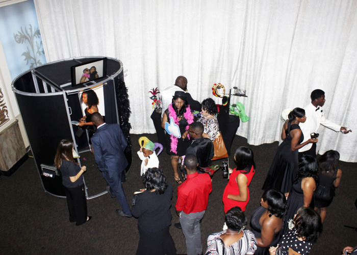 photo booth at event